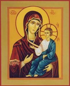 Holy Theotokos with Child