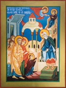 Entrance of the Theotokos in to the Temple