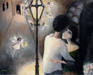 Love, oil on canvas, 2011
