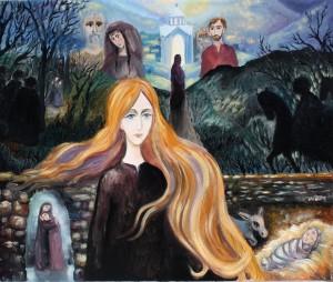 Martha, oil on canvas, 2014, Denmark
