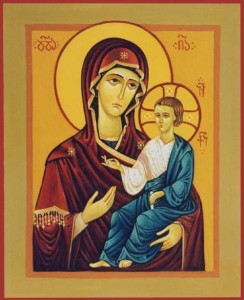Holy Theotokos with Child